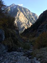 IMG_2550 (August Benjamin) Tags: provocanyon lostcreekfalls bridalveilfalls provorivertrail provoriver utah mountains hiking autumn fall fallcolors creek waterfall cascademountain