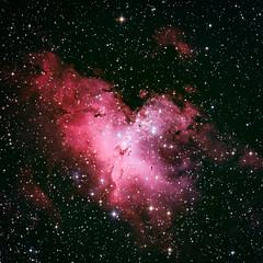 The Eagle has landed (yecatsiswhere) Tags: 2018 australia nebula eaglenebula universe gas nebulae astrophotography stargazing stars night longexposure telescope itelescope starburst space messier16 m16 emissionnebula opencluster starlight astronomy deepsky deepspace constellation interstellar observatory amateurastronomy amateurastrophotography