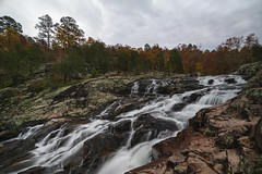 Rocky Falls (Notley Hawkins) Tags: wideangle httpwwwnotleyhawkinscom notleyhawkinsphotography notley notleyhawkins 10thavenue rockyfalls rockyfallsshutins 2018 water river waterfalls shannoncountymissouri landscape rural ozarknationalscenicriverways ozark ozarks summer waterfall rock rocks shutins november fall autumn tree creek stream flow current lichen