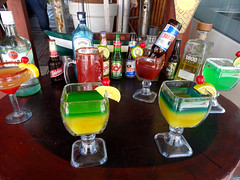 Colourful Beverages (knightbefore_99) Tags: mexico mexican quintanaroo island isla mujeres tropical sol sun waarm cool great awesome best colour drink michelada cocktail tequila art nice