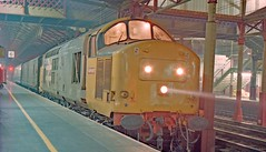 Photo of 37689 Crewe 11th December 1987.