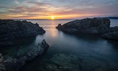 Sunrise in Cala Bramant (Jordi Casaponsa) Tags: calabramant costabrava paisatge sol sunrise
