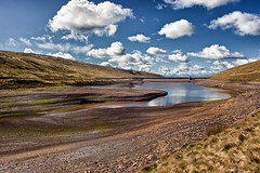 Readycon Dean Reservoir (Missy Jussy) Tags: readycondeanreservoir reservoir denshaw rochdale landscape lancashire sky clouds hills pennines rocks drystonewalls water reflections outdoor outside countryside rural 5d canon5dmarkll canon5d canoneos5dmarkii 24mm ef24mmf28 canon