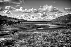 Readycon Dean Reservoir (Missy Jussy) Tags: readycondeanreservoir reservoir denshaw landscape lancashire water sky clouds hills grass rochdale saddleworth mono monochrome blackwhite bw blackandwhite 5d canon5dmarkll canon5d canoneos5dmarkii canon ef50mmf18ii