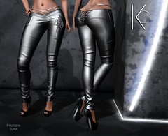 Kira Pant (Kla Cale) Tags: pant panties woman leather latex chain sexi glamour logo kc kcstyle kla cale shop maitreya slink belleza sl secondlife outfit mesh fitmesh avatar autumn model modeling dress beauty female wear cloting mode clothing modelling mannequin fashion event elegance style mainstore glamoure lace harness underpants leggins top bra skirt