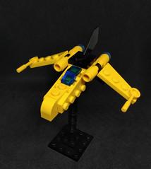 Wader Class Strike Craft (Vitor O S Faria) Tags: ship spaceship starship starfighter fighter lego mobileframezero