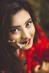 A D R I (Ricky Photography ~ Canon) Tags: asian fashion bangladeshi canon face nature saree head female bridal bengali portrait photography commercial glamour shot stm is 85mmprimeshot outdoor bride 1200d trending
