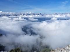 Über den Wolken.... (schasa68) Tags: natur landscape berge bergwelt mountains wolken clouds naturschauspiel olympus wandern hiking wolkenmeer hochoben bergwelten austria schrocken naturelandscape naturfotografie