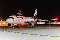 Eurowings D-ABHN HAJ at Night (U. Heinze) Tags: aircraft airlines airways airplane planespotting plane nikon night nightshot eddv flugzeug haj hannoverlangenhagenairporthaj