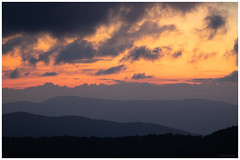 Shenandoah sunset 10-8-2018 (adamwilliams4405) Tags: shenandoah sunset sunsets mountains colors skyline horizon clouds vista canon virginia visitvirginia va explore outside outdoors tones sky loveva