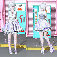 Lilac Baby (LittleRen Resident) Tags: maitreya catwa kmh unicult wednesday anatomy rainbow sundae moon amore michan supernatural momochuu cowtea kiukiu 89hz empire cinnamon cocaine sugasuga insomnia angel blush gacha freebies free second life fashion kawaii pastel cute