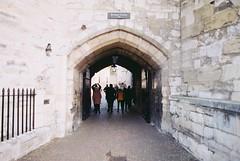 Tower Of London (goodfella2459) Tags: nikonf4 afnikkor24mmf28dlens cinestill50 35mm c41 film analog colour london history toweroflondon