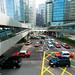 Puentes peatonales en Hong Kong