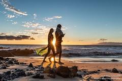 The Light Between (BobbyFerkovich) Tags: sonyimages sonya7riii sunstar sunset hawaii maui