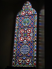 Church - Church of Scotland, Braemar 180711 [Stained Glass Window d] (maljoe) Tags: church churches braemar churchofscotland stainedglasswindow stainedglass stainedglasswindows