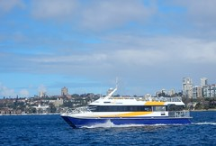 Fast Ferry (mikecogh) Tags: sydney harbor harbour ferry fast modern