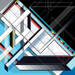 J.Series_296 (Marks Meadow) Tags: abstract abstractart geometric geometricart design abstractdesign neogeo color pattern illustrator vector vectorart hardedge vectordesign interior architecture architectural blackwhite surreal space perspective colour asymmetry structure postmodern element cubism technology technical diagram composition aesthetic constructivism destijl neoplasticism decorative decoration layout contemporary symmetrical mckie