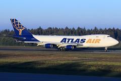 Atlas Air  Boeing 747-4B5(ER/F) N446MC (widebodies) Tags: frankfurt hahn hhn edfh widebody widebodies plane aircraft flughafen airport flugzeug flugzeugbilder atlas air boeing 7474b5erf n446mc