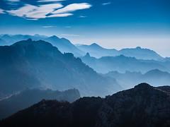 Velebit (Leonardo Đogaš) Tags: landscape mountain mist sumaglica oblaci clouds sky nebo velebit croatia hrvatska blue leonardođogaš