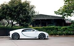 Chiron. (Alex Penfold) Tags: carweek 2018 america us car week supercars super autos alex penfold california monterey bugatti chiron sky view white