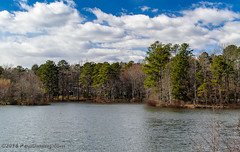 Tom Sawyer Pond (Paul Diming) Tags: dailyphoto v1 landscape virginia lakewalk n1v1 chesterfieldcounty nikon1v1 winter swiftcreekreservoir lake midlothianvirginia pauldiming midlothian unitedstates us