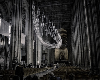 The Cathedral in Canterbury ...
