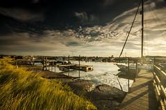 Suffolk Southwold (daveknight1946) Tags: yachts pier suffolk southwold river riverblyth mud lowtide clouds blue white jetty