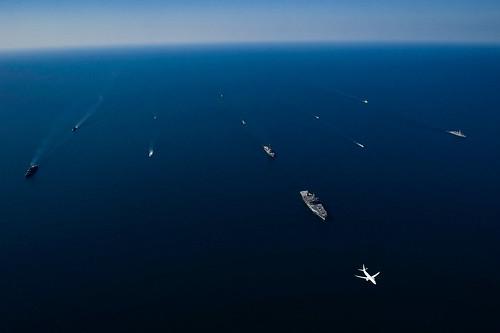 Sea Breeze in the Black Sea