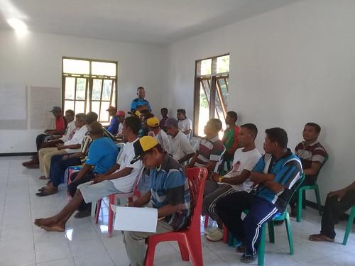 Pelatihan monitoring lamun Munaseli 2