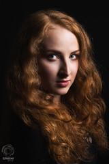 Anna. An Industar mistake (mkarwowski) Tags: canon eos 80d canoneos80d eos80d industar502 m42 studio flash woman portrait girl