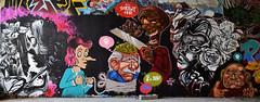 Bad Brain (HBA_JIJO) Tags: streetart urban graffiti paris art france hbajijo wall mur painting peinture spray woman urbain charactere andrewwallas berthet brain berthetone albert einstein