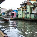 Khlong Saen Saep Canal Boat in Bankgok thumbnail