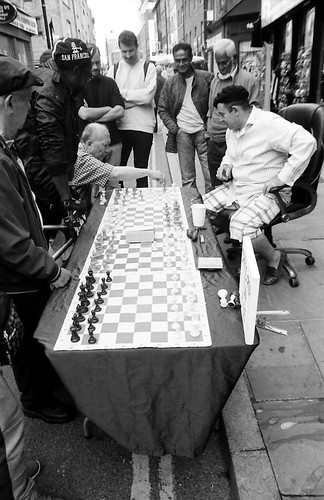 Chess Players Covent Garden