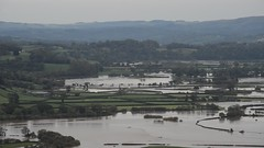 Flooded Towy Valley (howell.davies) Tags: nikon d3200 55300mm video movie dvd landscape film towy tywi valley carmarthenshire wales uk fields trees dryslwyn castle water wet river storm callum carmarthen flood flooded flooding mountains hills sky clouds