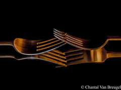 Macro (Chantal van Breugel) Tags: macro bestek reflecties abstract canon5dmark111 canon100mm