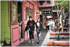Strolling through China Town (gro57074@bigpond.net.au) Tags: cbd candidportrait couple f28 50mmf14 artseries sigma d850 nikon candidstreet candid colour dixonstreet sydney chinatown