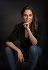 The Studio Effect... (Allan James Fisher) Tags: welsh national opera sarah bennington studio actress nikon