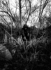 brush (jakelewisreal) Tags: black white conversion recording studio night time full body