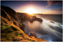 Balancing Act (Augmented Reality Images (Getty Contributor)) Tags: nisifilters autumn benro canon cliffs clouds coastline landscape longexposure morayshire morning portknockie rocks scotland seascape sunset water waves