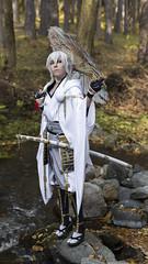 Sylvia Umbrella (saromon1989) Tags: cosplay cosplayer cosplaying samurai japan portrait autumn anime animes 日本 アニメ あにめ ニコン nikon d7200 immersive forest nature
