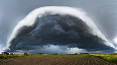 Minnesota Arcus cloud (John Finney) Tags: weather storm stormcloud arcuscloud cloudscape curve dramaticsky extremeweather greatplains hailstorm minnesota monsoon panoramic thunderstorm torrentialrain luverne