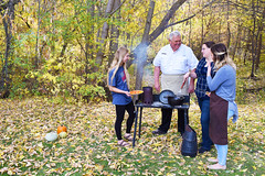 CookingTogether (UtahScouts) Tags: pumpkin dutchoven barebones voiceofscouting thanksgiving fall recipes