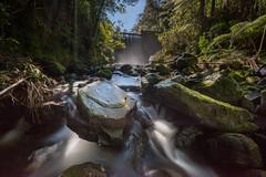 Waterworks (Antony Eley) Tags: river stream reservoir dam waterfall flow rapids rocks landscape nature