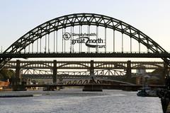 Tyne bridges (Cumberland Patriot) Tags: newcastle upon tyne tyneside river bank quay bridge