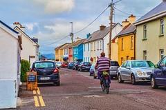 portmagee, ireland (-liyen-) Tags: portmagee ireland countykerry bicycle town village summer fujixt2 explore challengeyouwinner
