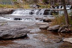 Falls at Fox Creek (fotofish64) Tags: creek water foxcreek foxcreekpark waterfall falls flowingwater boulder landscape outdoor berne hilltowns helderbergs rural newyork capitaldistrict park ks2 kmount pentax pentaxart vintagelens manualfocuslens supertakumar55mmf2lens