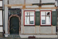 Through the years (KPPG) Tags: architektur architecture building gebäude germany deutschland haus house eingang tür door windows fenster fachwerk halftimbering tangermünde