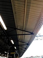 Looking up, there....behold the platform ceiling (dksesh) Tags: seshadri dhanakoti harita menaka apple iphone sesh seshfamily haritasya vilambisamvatsara appleiphone7 appleiphone iphone7 ccgoct2018