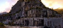 Old Marble Quarry, Apuan Alps - PANO_20180923_183430m82(1) (maxo1965) Tags: apuan alps marble quarry tuscany henraux carrara pietrasanta mountain