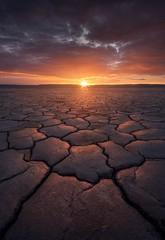 unfair(ytale) (Ryan Dyar) Tags: fieldsoregon ryandyar pacificnorthwest northwest light sunrise mud cracked dry mudcracks southeast oregon playa desert alvord